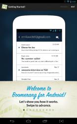 Boomerang tutorial start