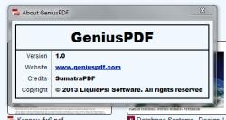 Genius PDF about