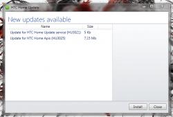 HTC Home updates available