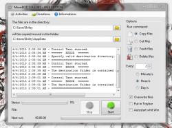 MoveBOT settings configured