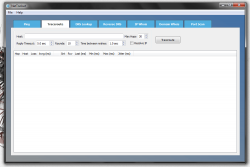 NetToolset Traceroute tool