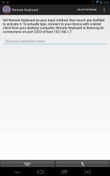 Remote Keyboard UI