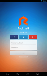 Rockmelt Login