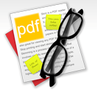 [Mac OS X] Annotate or read PDF files with Skim for OS X