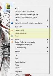 Silver Key context menu options 2