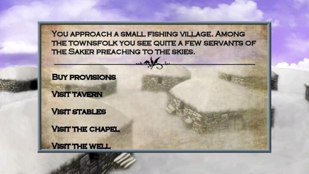 Tales of Illyria City Menu