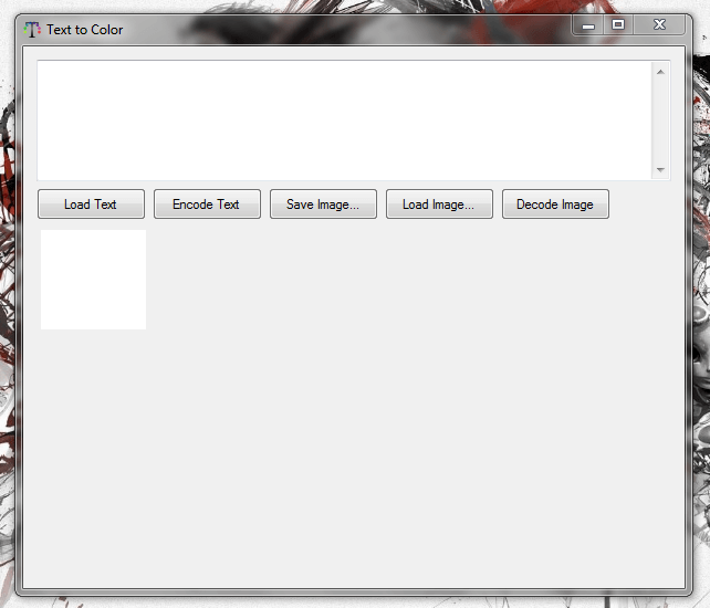 Text to Color UI