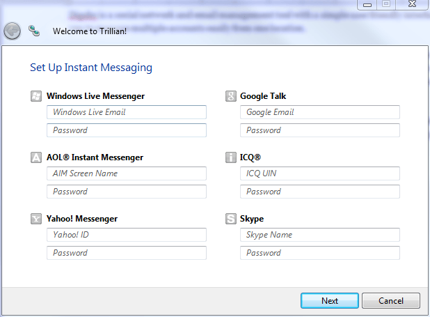 Instant Messaging Programs : Windows best free instant messaging client trillian