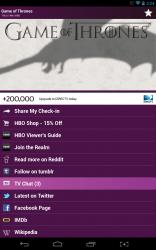 Viggle dedicated show page