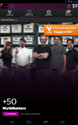 Viggle featured show page