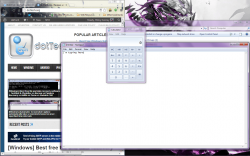 Window on Top active typing