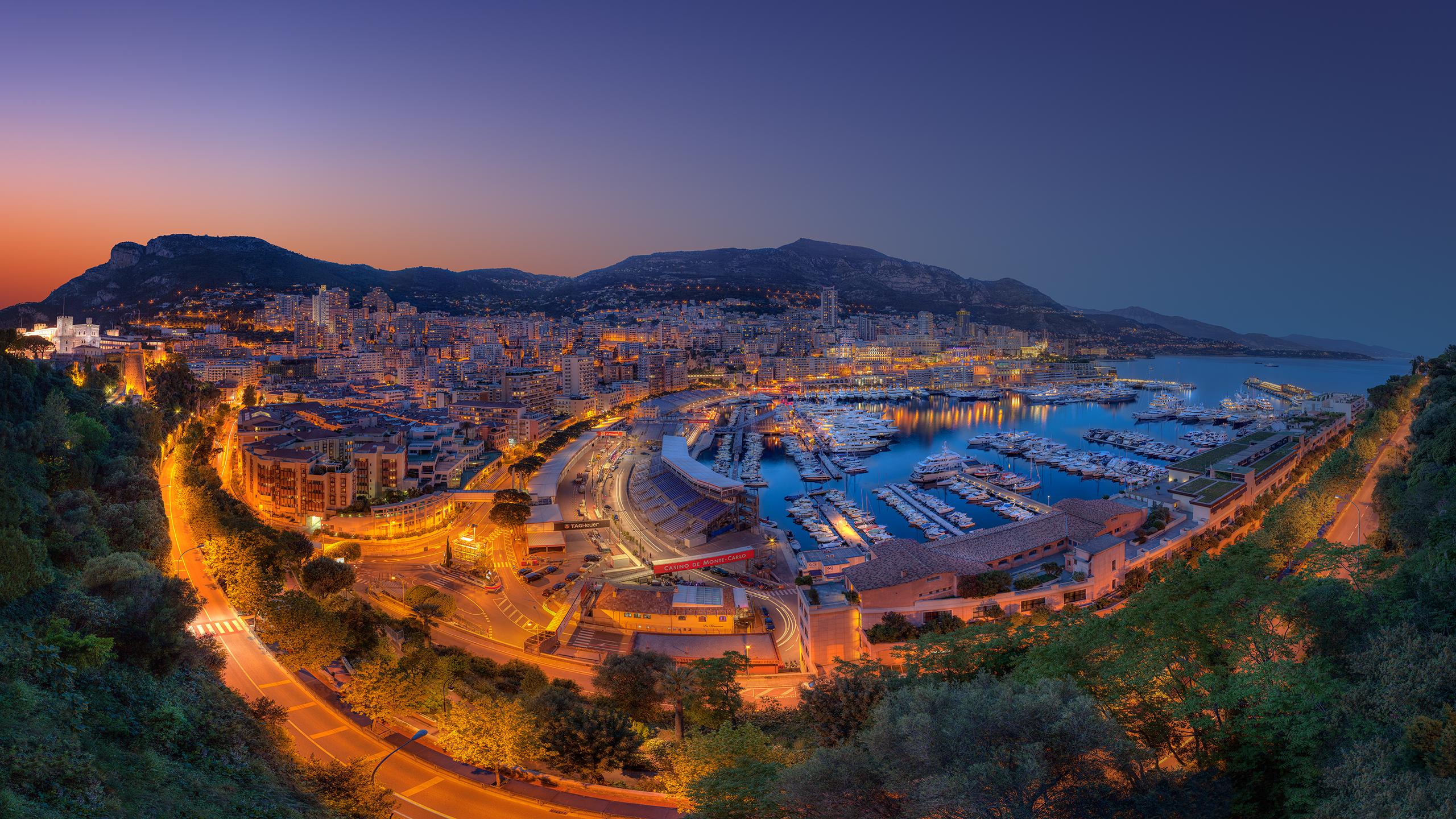 Formula 1 Grand Prix Fever at the Port Hercule of the Principali