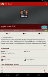 AppSales description page