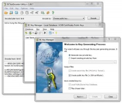 BCTextEncoder key generator