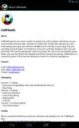 Callheads about