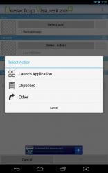 Desktop Visualizer action list