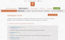 Dexclock browse clocks