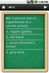 English Idioms Dictionary Trivia