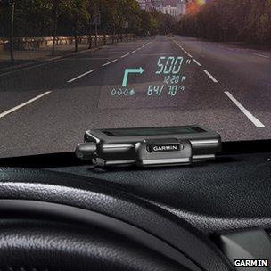 Garmin Heads up Display