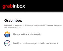 GrabInbox Tweet Scheduler