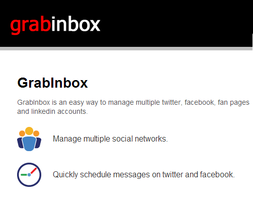 GrabInbox Tweet Scheduler