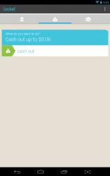 Locket cashout screen