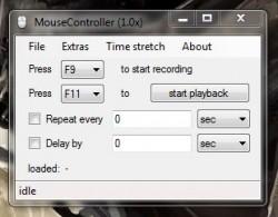 MouseController UI