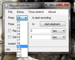 MouseController hotkey customization