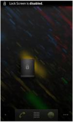 No Lock Screen Widget