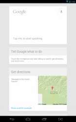 Open Mic for Google Now