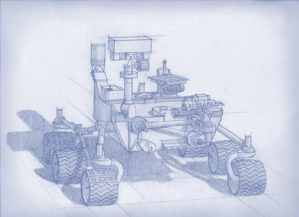 2020 NASA Rover concept art