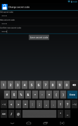 SMS Bypass secret code entry