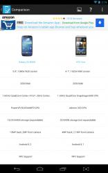 SpecCheck device comparison