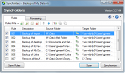 SyncFolders screenshot