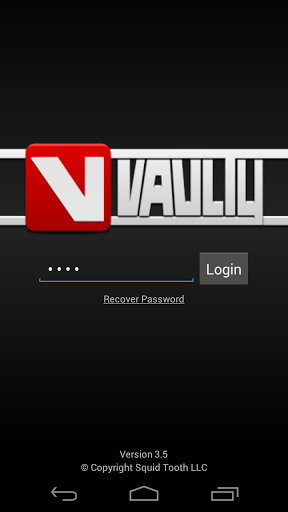 Vaulty app for Android