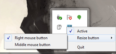Win X Move context menu