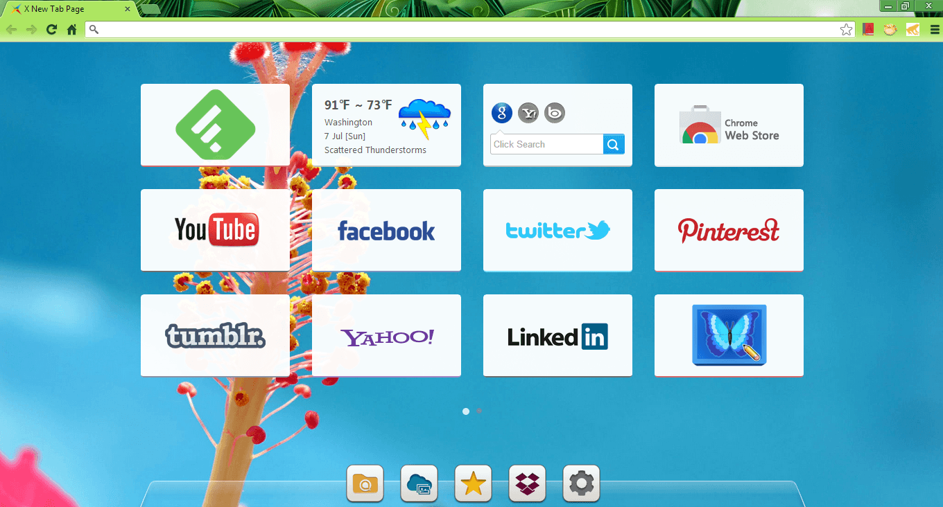 want to open a new tab...