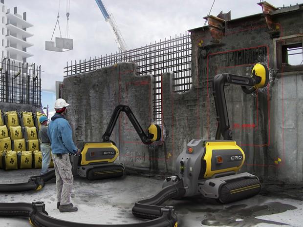 building-demolishing-robot