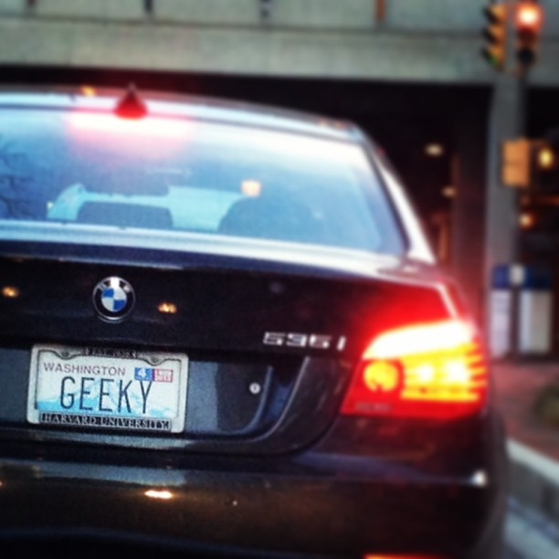 geeky_license_plate