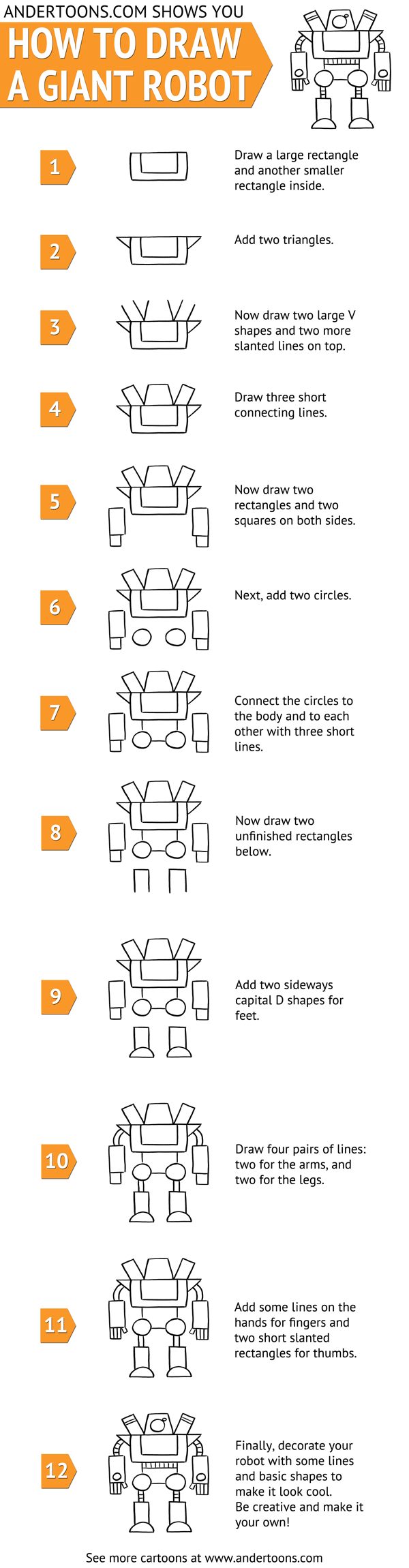 how_to_draw_giant_robot_infographic