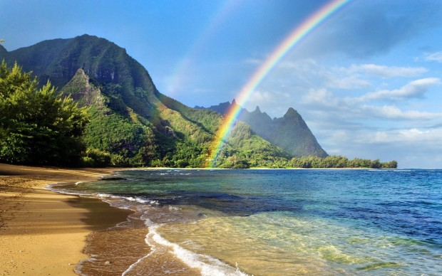 rainbow_over_ocean_wallpaper
