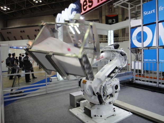 robot mixing system