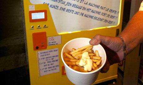 Belgium frites machine