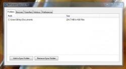 BitTorrent Sync UI