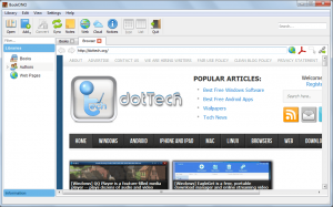 BookONO web browser