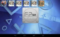 FPse Main menu