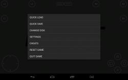 FPse in-game menu
