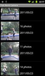 Fast Burst Camera App