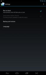 Folder Mount settings