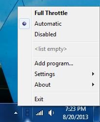 Full Throttle UI